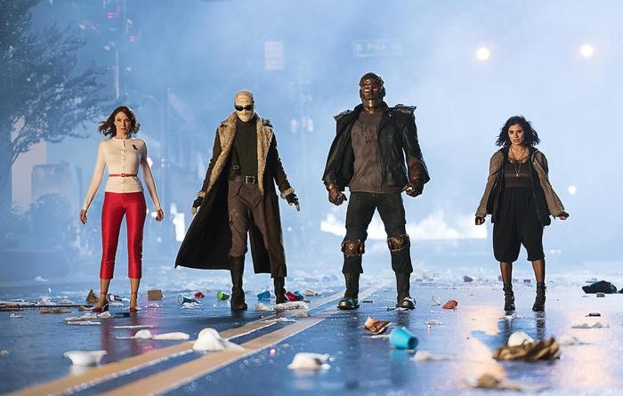 Doom Patrol, potenti supereroi drop out