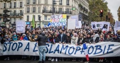 10.000 contro islamofobia a Parigi