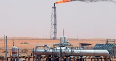Petrolio: in calo a 56,9 dollari barile