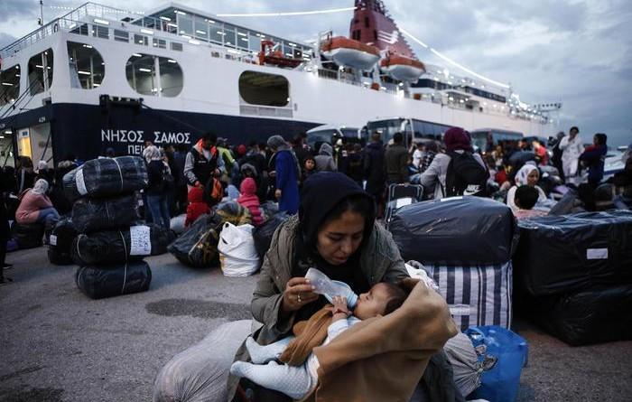 Migranti: protesta nelle isole greche