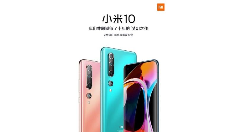 La serie Mi 10 di Xiaomi sarà decisamente cara, al pari dei concorrenti
