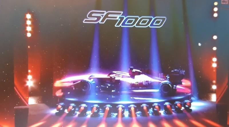 Ecco la SF 1000, la nuova Ferrari F1. Per la prima volta giù il velo lontano da Maranello
