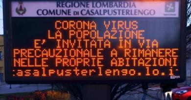 Coronavirus, il focolaio del Nord