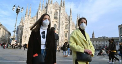 Coronavirus: sesta vittima in Italia, morto 80enne a Milano. Oms: 'Molto preoccupati per i casi in Italia'