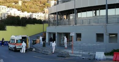Coronavirus, morta donna di 86 anni ricoverata all'ospedale San Martino di Genova