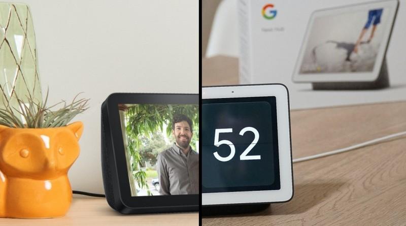 Google Nest Hub o Amazon Echo Show? Sfida al miglior prezzo con le offerte di oggi