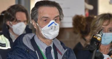 Coronavirus Lombardia, Fontana: «Dati in linea. Da Roma solo briciole, ci siamo dovuti arrangiare da soli»