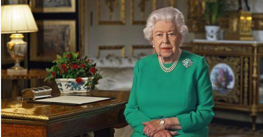 Coronavirus, il discorso della regina Elisabetta in tv per quattro storici minuti: «Siate forti, come sempre»