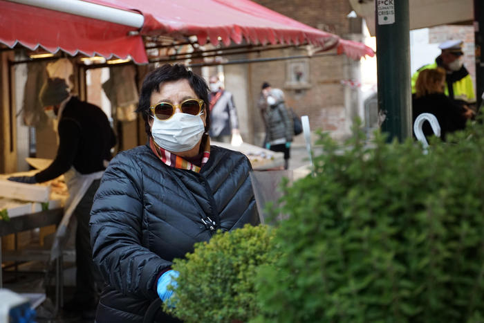 Coronavirus:Treviso, obbligo mascherine